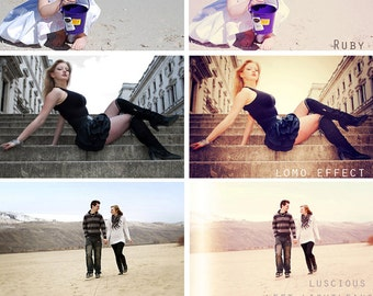 INSTANT DOWNLOAD Exclusive Photoshop Action Collection