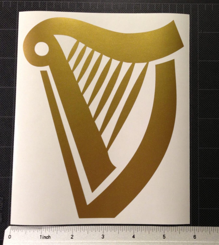 Golden Harp Clipart The ...