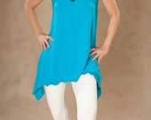 ON SALE NOW!!!  Turquoise Trapeze Tank