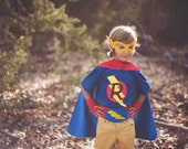 NEW PERSONALIZED Super Hero T-shirt - Customize from 4 super hero designs - initial - and shirt color
