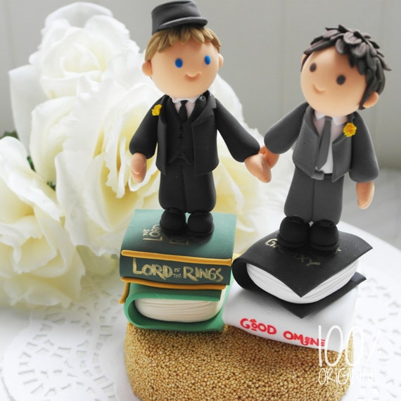 wedding cake toppers same sex couples custom wedding cake topper same by 26592
