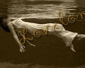 Night Swim...  Instant Digital Download... Vintage 1920's Glamour Fashion Photo... Erotic Photography Image by Lovalon