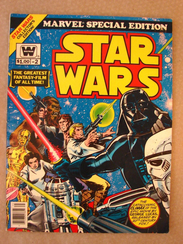 Vintage 1977 Marvel Special Edition Star Wars Oversize Comic
