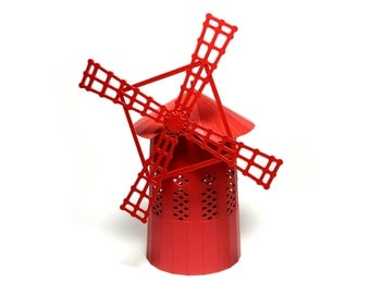 Moulin Rouge, assembled model