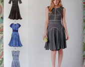 Simplicity Misses' Dress Pattern 1802 By Designer Cynthia Rowley - Size 6-8-10-12-14