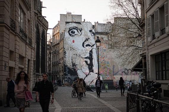Paris Photography, Paris Decor, Graffiti Print, Paris Photo, Grafitti Art