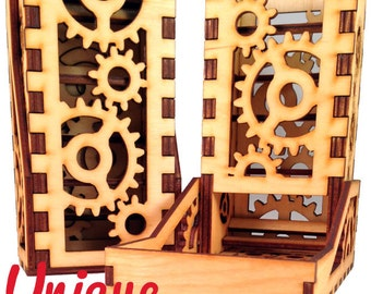Gears - A Unique Dice Tower