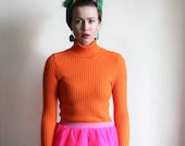 Bright Orange Knit Sweater by Ogre Knitwear - MagpiesShop