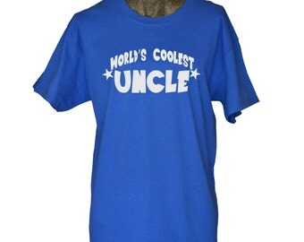 Uncle Shirt Worlds Coolest Uncle T shirt Best Uncle Shirt Gift for Uncle