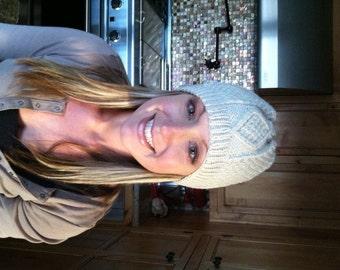 Women's Handknitted Aran Hats