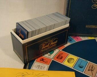 Trivial Pursuit Genius Edition Master Set 1981 Original Horne Abbot Game