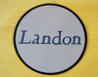 Landon name sign