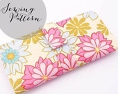 INSTANT DOWNLOAD - Wallet PDF Sewing Pattern - by Jenna Lou Designs