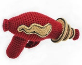 Crocheted Raygun Pattern PDF