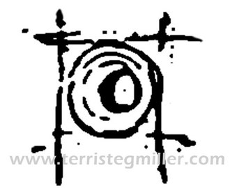 Thermofax Screen - Circle in Square 2