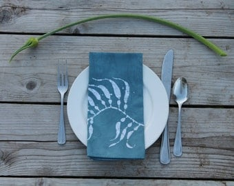 kelp lunch napkins. made to order