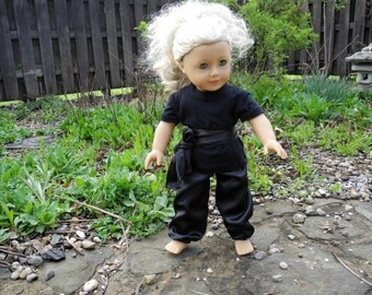 18-Inch Girl Doll Clothes- Kung-Fu