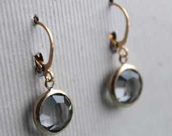 Nia Earrings - Vintage Swarovski
