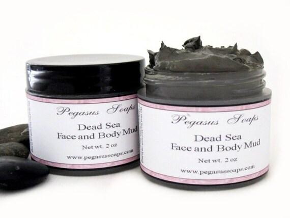 Dead Sea Face and Body Mud Mask 2 oz Facial Mask, Facial Care
