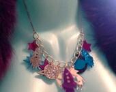 Galaxy Charm Necklace