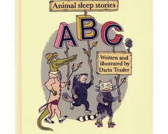 Animalsleep ABCs book