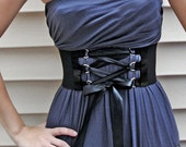 Corset Belt Satin D-ring Trim and Ribbon
