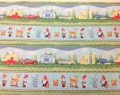 """Reserved for Heather: Gnome Trailer Stripe 4 yd 12"""""""
