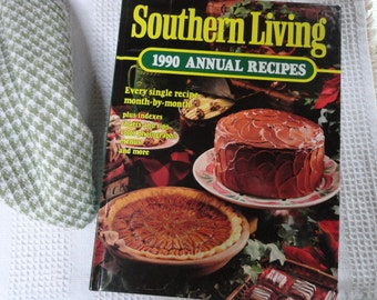 1990s Annual Recipes, Seasonal Cooking, Southern Living Cookbook