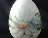 Easter Egg  Hand Painted Porcelain