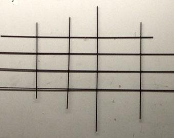 Crossroads 66- Mid Century Metal sculpture - Wall Art - J. Sebastian