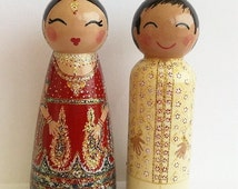 indian wedding cake dolls painted boxes custom indian wedding and 16414