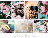 Pretty Wonderland - 7 postcard set