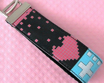 Heart U Tetris Key Ring