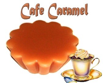 4 Cafe Caramel Tarts Wickless Candle Melts Coffee Toffee Scent
