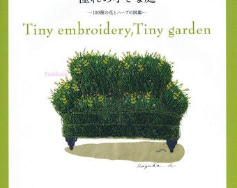 Kazuko Aoki - Tiny Embroidery Tiny Garden Japanese Craft Book