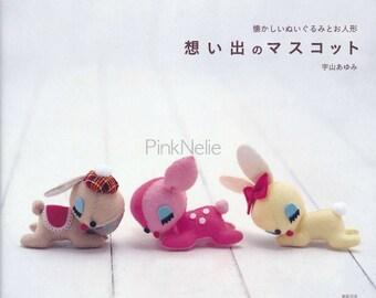 AYUMI UYAMA Felt Mascot Memory Collection Japanese Craft Book