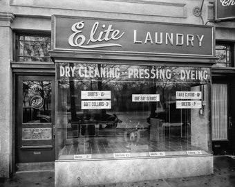 Digital Print Laundry Art Instant Download Vintage Laundry Decor 16x20 Black and White Print Digital Download CU Commercial Use