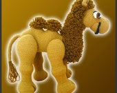 Amigurumi Pattern Crochet Joe Camel DIY Instant Digital Download PDF