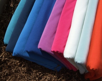 Organic MINI Crib Sheet - Bamboo Fitted Crib Baby Bedding - Organic Cotton and Bamboo - 7 Colours to Choose