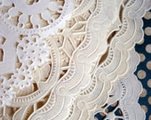 Vintage Paper Doily Scraps - Paper Doily Scraps for Paper Crafting