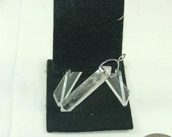 Crystal Quartz Double Point Pendant-1