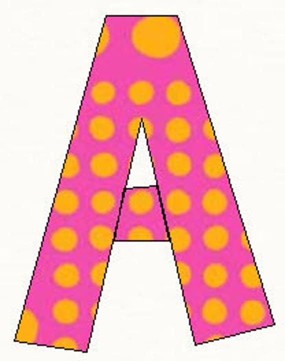 Printable Alphabet Brady Bunch Font template pattern in pdf for immediate download.