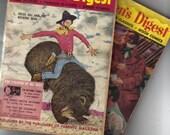 """1950's Children""""s Digest magazine books"""