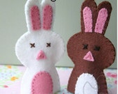 Pattern: Bunny Finger Puppets