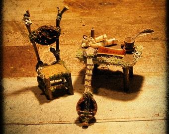 Faery Lute Miniature Musical Instrument custom order
