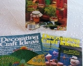 Vintage Magazines 'Decorating Craft Ideas' 1970s 1980s How-to Crafting Sewing Cooking
