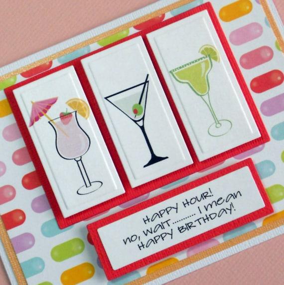 Funny Birthday Card Birthday Card For Friend Handmade Card