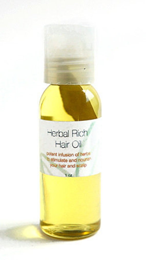 Herbal Rich Hair Oil - Hot Olive Oil Treatment