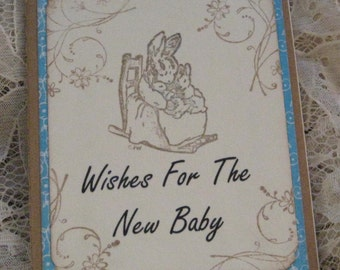 Baby's Journal Moleskine ruled Notebook Wishes For The New Baby