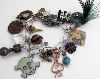 EtsyMetal Charm Swap 10 Bracelet